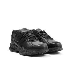 New Balance 2002R Leather Trainers - Black