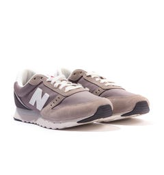 New Balance 311v2 Suede Trainers - Marblehead & Magnet Grey