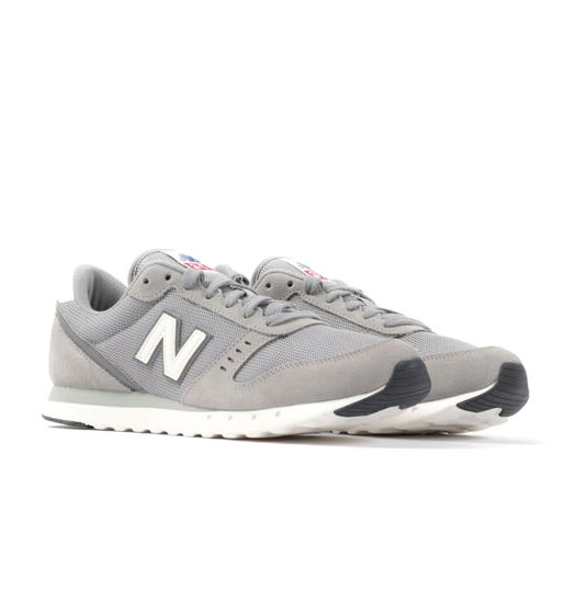 New Balance 311v2 Suede Trainers - Team Away Grey with Castlerock