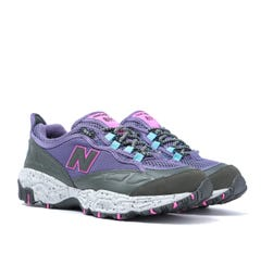 New Balance 801 Violet Fluorite with Defense Green Leather Trainers