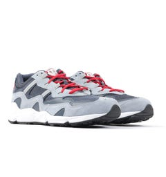 New Balance x No Vacancy Inn 850 Suede Trainers - Navy, Grey & Red