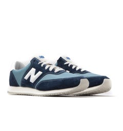 New Balance MLC100 Navy & Light Blue Suede Trainers