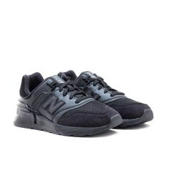 New Balance 997 Black Suede & Mesh Sports Trainers