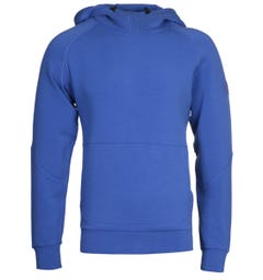 Napapijri Bible Ultramarine Blue Hooded Sweatshirt