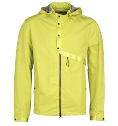 CP Company Lightweight Yellow Goggle Hooded Jacket
