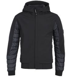 CP Company Soft Shell Arm Lens Black Padded Jacket