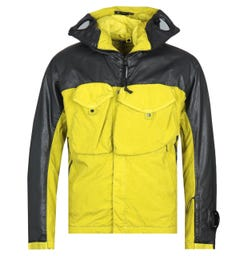 CP Company Coated Resin Panel Yellow Hooded Jacket