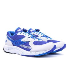 Saucony Aya Ocean Blue & White Trainers
