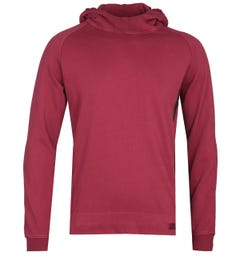 CP Company Pullover Red Goggle Hoodie