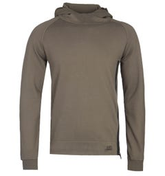 CP Company Pullover Olive Goggle Hoodie
