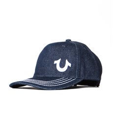 True Religion 3D Horseshoe Dark Indigo Cap