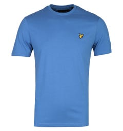 Lyle & Scott Crew Neck Short Sleeve T-Shirt - Lapis Blue