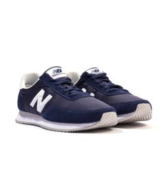 New Balance 720 Suede & Mesh Trainers - Navy