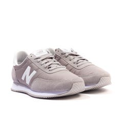 New Balance 720 Suede & Mesh Trainers - Grey