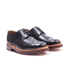 Grenson Archie Black Leather Brogues