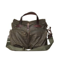 Filson Dark Otter Green 24 Hour Tin Briefcase