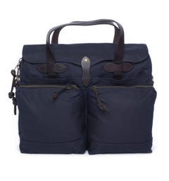 Filson Navy 24 Hour Tin Bag