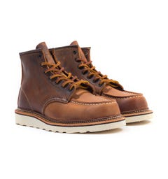 Red Wing 1907 Classic Moc Toe Boots - Copper