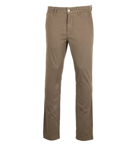 NN07 Marco 1400 Green Chino Trousers