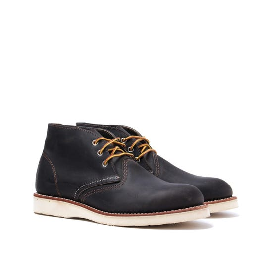 Red Wing 3150 Chukka Boots - Charcoal Rough & Tough