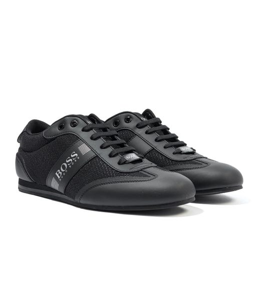 BOSS Lighter Low Profile Trainers - Black