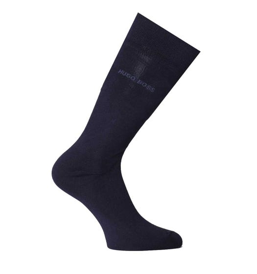 BOSS Bodywear Edward Bamboo Navy Socks