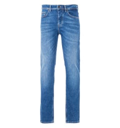 BOSS Taber Stretch Tapered Fit Jeans - Dark Blue