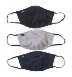 BOSS Bodywear 3 Pack Facemask