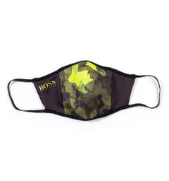BOSS Bodywear Green Camo Facemask