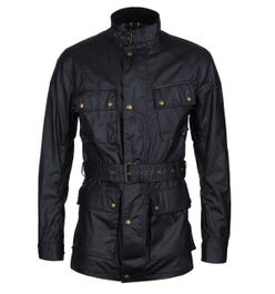 Belstaff Trialmaster Dark Navy Wax Jacket