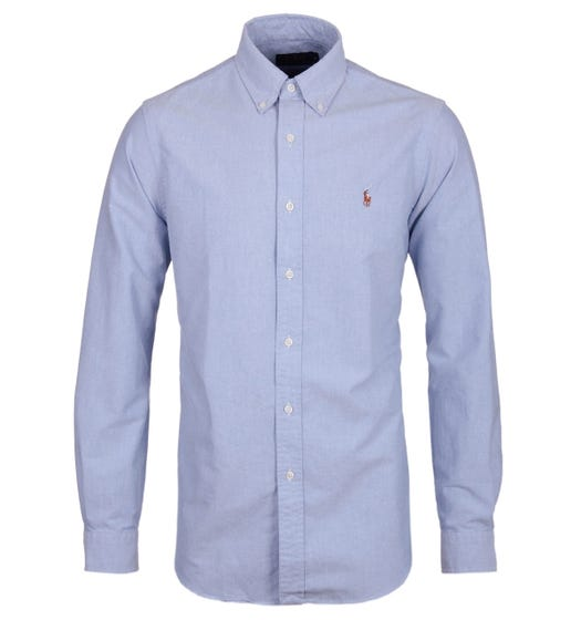 Polo Ralph Lauren Blue Long Sleeve Shirt