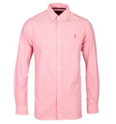 Polo Ralph Lauren Pink Custom Fit Oxford Shirt
