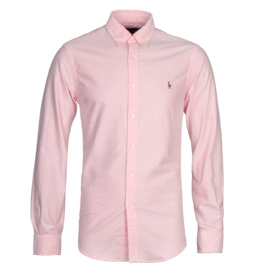 Polo Ralph Lauren Pink Slim Fit Oxford Shirt