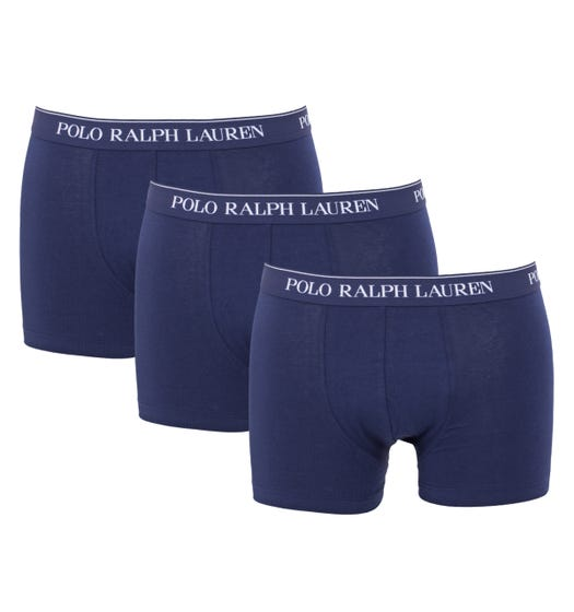 Polo Ralph Lauren 3 Pack Classic Trunk Boxers - Navy
