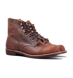 """Red Wing 8085 Copper Rough & Tough Heritage 6"""" Iron Ranger Boots"""
