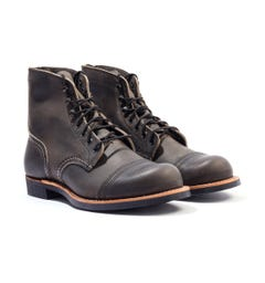 Red Wing 8086 Iron Ranger Boots - Charcoal Rough & Tough