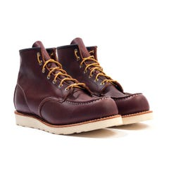 Red Wing 8138 Classic Moc Toe Leather Boots - Briar Oil Slick