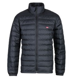 Levi's Down Dehon Black Packable Puffer