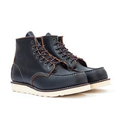 Red Wing 8849 Classic Moc Toe Boots - Black