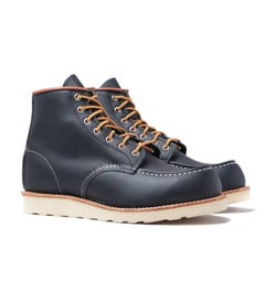 Red Wing 8859 Classic Moc Toe Leather Boots - Navy Portage