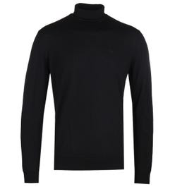 Emporio Armani Black Turtle Neck Sweater