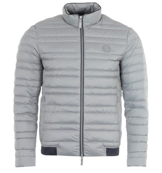 Armani Exchange Packable Down Jacket - Grey