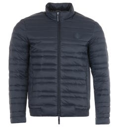 Armani Exchange Packable Down Jacket - Navy