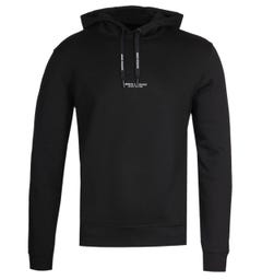Armani Exchange Black Milan NYC Hoodie