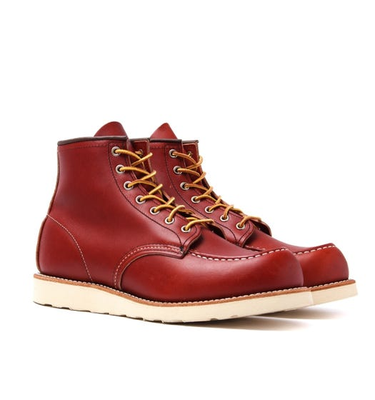 Red Wing 8131 Classic Moc Toe Leather Boots - Oro Russet Portage