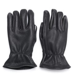 Red Wing Lined Black Leather Gloves