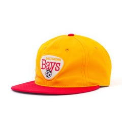 Ebbets Field Flannel Baltimore Bays 1967 Vintage Cap - Yellow & Red