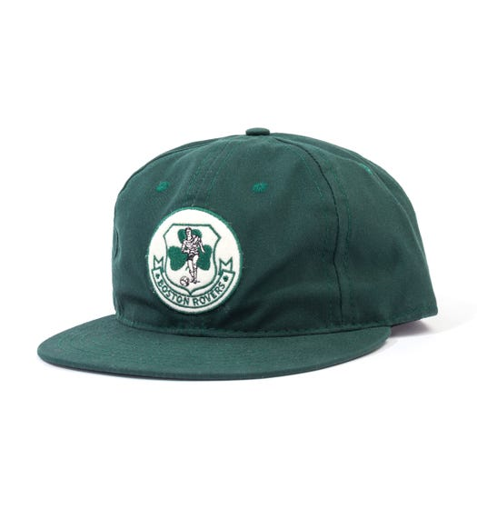 Ebbets Field Flannel Boston Rovers 1967 Vintage Cap - Forest Green