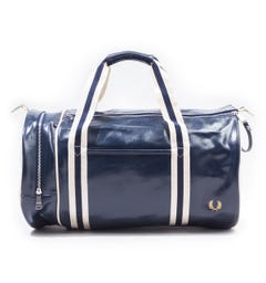 Fred Perry Classic Barrel Bag - Navy