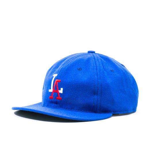 Ebbets Field Flannel Los Angeles Angels 1956 Blue Cap